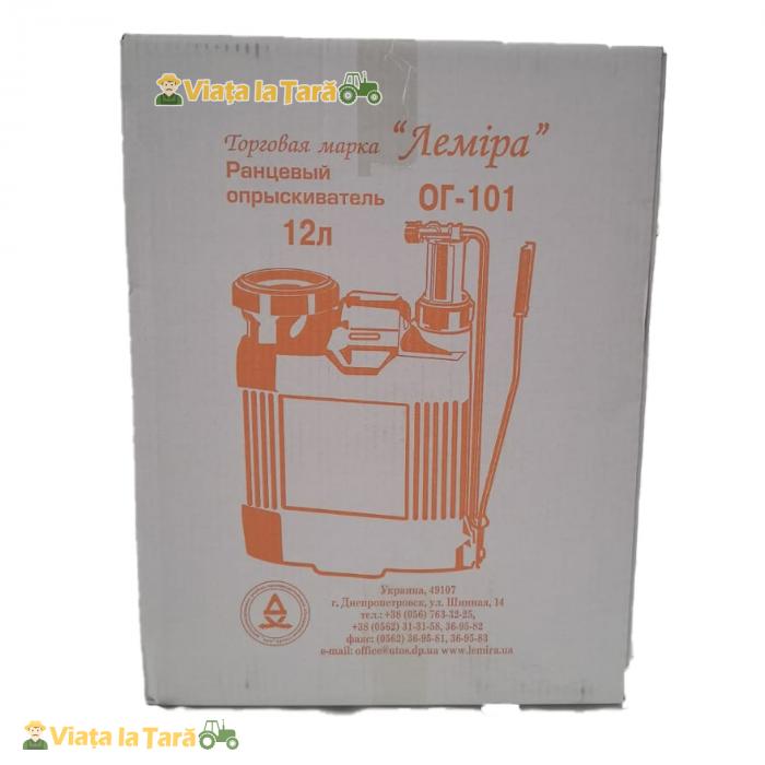 Pompa de stropit manuala 12L ELEFANT, 4 Bari 3