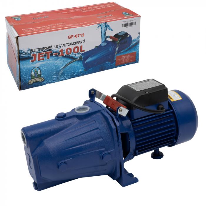 Pompa apa de suprafata Micul Fermier Jet 100L, 1500 W, 3600 l/h 0