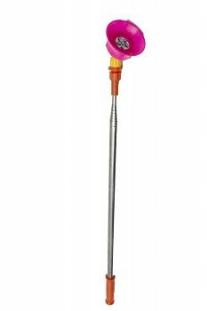 Pompa de stropit Elefant 18 Litri 6 Bari, vermorel cu baterie acumulator 12V/8A + Lance telescopica de 3,5M din inox 1