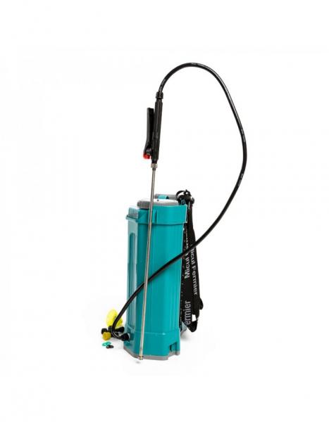 Pompa de stropit electrica Pandora 16 Litri, 5 Bari + regulator presiune, Vermorel cu baterie - acumulator 5