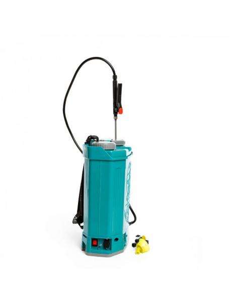 Pompa de stropit electrica Pandora 16 Litri, 5 Bari + regulator presiune, Vermorel cu baterie - acumulator 17