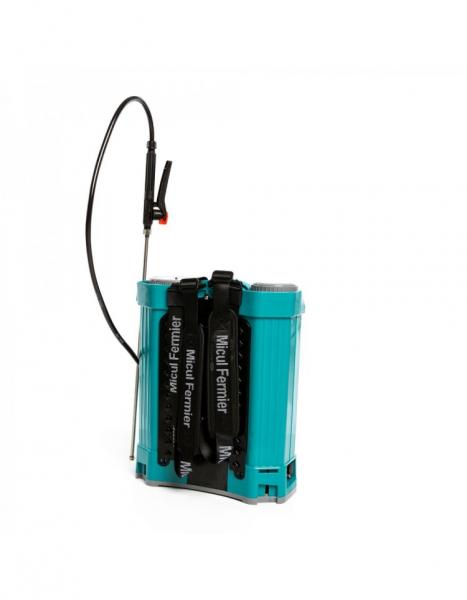 Pompa de stropit electrica Pandora 16 Litri, 5 Bari + regulator presiune, Vermorel cu baterie - acumulator 12