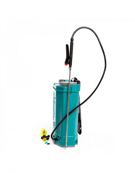Pompa de stropit electrica Pandora 16 Litri, 5 Bari + regulator presiune, Vermorel cu baterie - acumulator 4