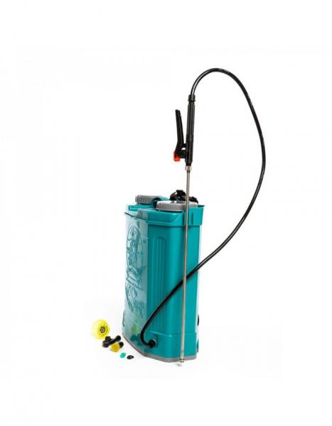Pompa de stropit electrica Pandora 16 Litri, 5 Bari + regulator presiune, Vermorel cu baterie - acumulator 3
