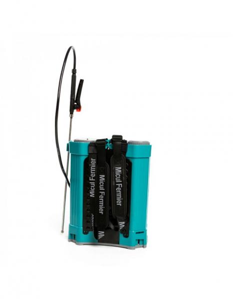 Pompa de stropit electrica Pandora 16 Litri, 5 Bari + regulator presiune, Vermorel cu baterie - acumulator 11
