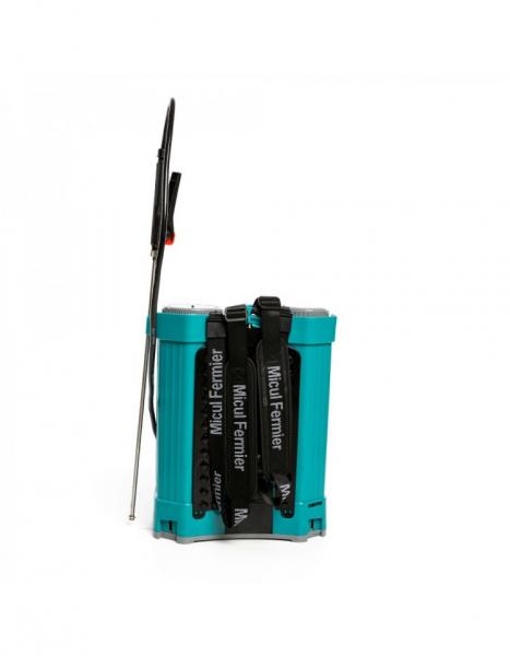 Pompa de stropit electrica Pandora 16 Litri, 5 Bari + regulator presiune, Vermorel cu baterie - acumulator 10