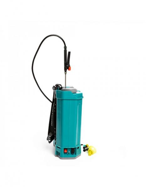 Pompa de stropit electrica Pandora 16 Litri, 5 Bari + regulator presiune, Vermorel cu baterie - acumulator 16