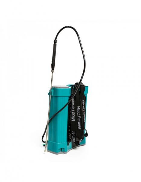 Pompa de stropit electrica Pandora 16 Litri, 5 Bari + regulator presiune, Vermorel cu baterie - acumulator 7