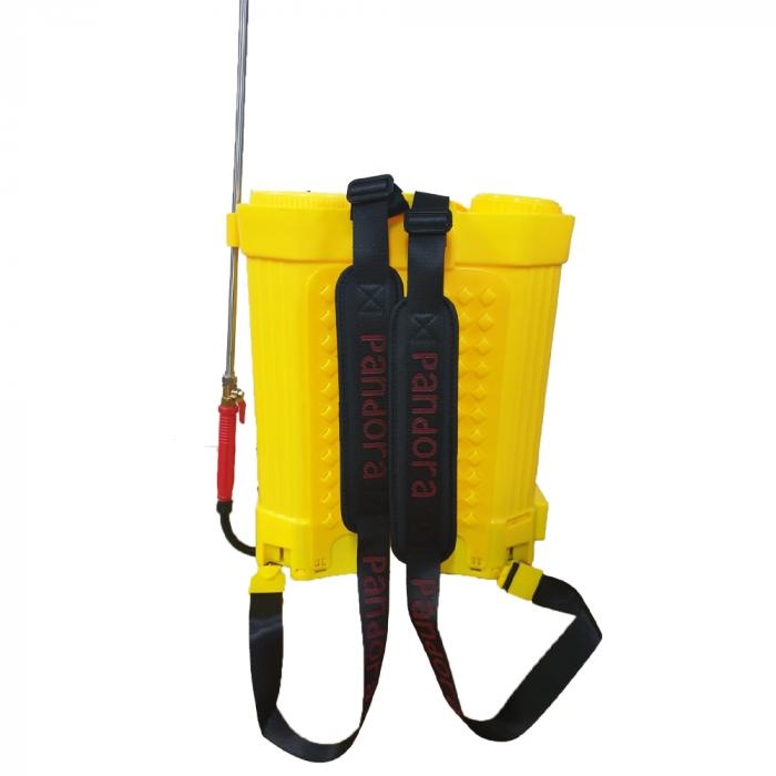 Pompa de stropit electrica Pandora 16 Litri, cu pompa dubla 15Ah, 7,5 Bari, 6 LPM 1