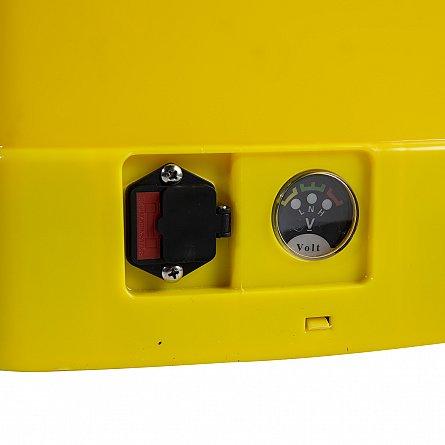 Pompa de stropit electrica Pandora 16 Litri, cu pompa dubla 15Ah, 7,5 Bari, 6 LPM 6
