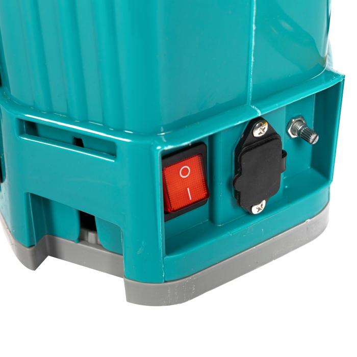 Pompa de stropit electrica si Manuala ( 2 in 1 ) 16 Litri 5 Bar, regulator presiune, Vermorel Pandora ( Herly ) cu baterie acumulator si manuala [23]