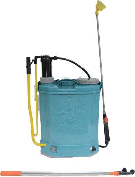 Pompa de stropit electrica si manuala ( 2 in 1 ) 16 Litri 5 Bari, Vermorel Pandora ( Herly ) cu baterie acumulator si manuala + Lance telescopica 3.3 m din inox [1]