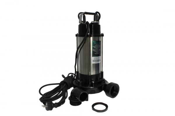 Pompa pentru apa murdara - cu tocator si plutitor 1500W din INOX 23m3/h DETOOLZ 4