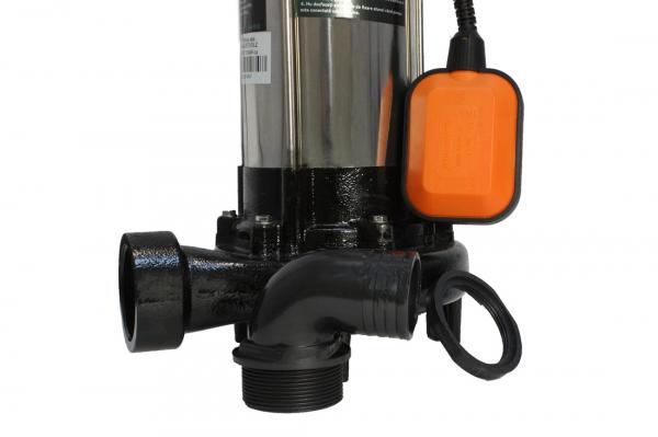 Pompa pentru apa murdara - cu tocator si plutitor 1500W din INOX 23m3/h DETOOLZ 5
