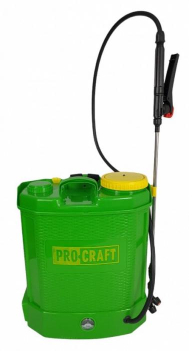 Pompa stropit 12L cu acumulator 12V, 8 AH, 6 Bari ProCraft AS12L 7