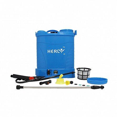 Pompa de stropit cu acumulator HERLY 12 litri, 5,5 bari 1