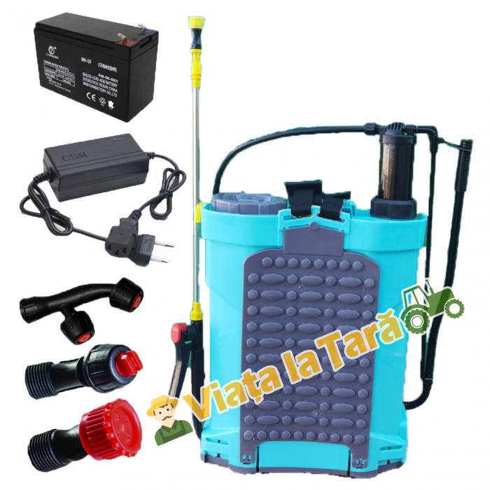 Pompa stropit electrica + manuala ( 2 in 1 ) 16 Litri - 5.5 bari - ALTAI 5