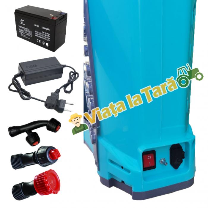 Pompa stropit electrica + manuala ( 2 in 1 ) 16 Litri - 5.5 bari - ALTAI 4