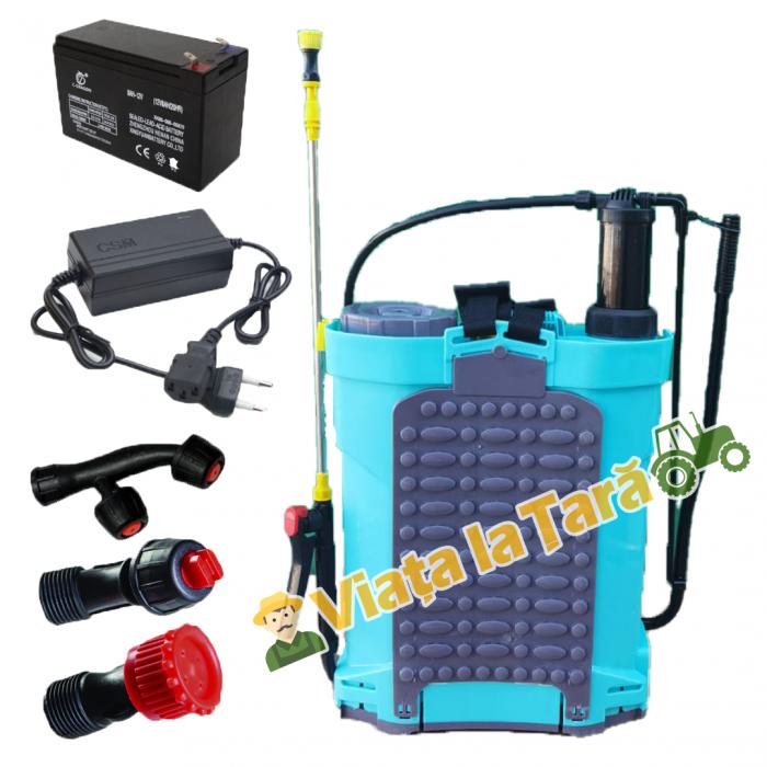 Pompa stropit electrica + manuala ( 2 in 1 ) 16 Litri - 5.5 bari - ALTAI 2