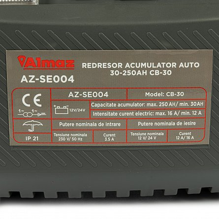 Redresor pentru acumulatori auto 30-250Ah CB-30 ALMAZ AZ-SE004 2