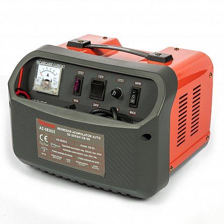 Redresor 12 - 24 V pentru acumulatori auto 30-300ah CB-50 ALMAZ AZ-SE003 2