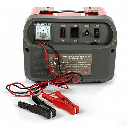 Redresor 12 - 24 V pentru acumulatori auto 30-300ah CB-50 ALMAZ AZ-SE003 5