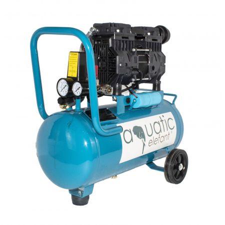 Compresor aer 0.9KW, 24L, 2650 RPM, Aquatic Elefant XY-2824 0