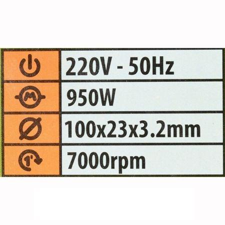 Masina de ascutit lanturi de drujba Procraft SK950, 950W, Ascutitor 2