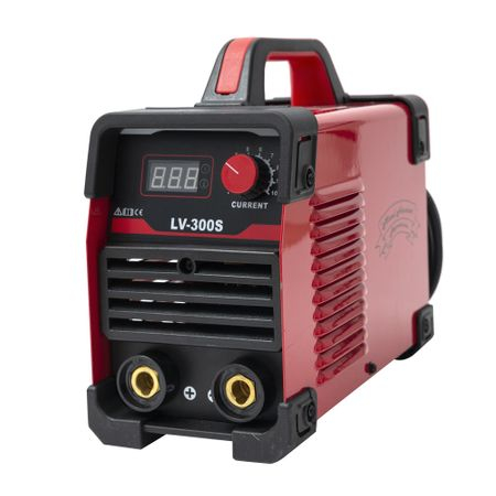 Aparat de sudura Micul Fermier LV 300S, sudeaza cu electrozi inox, supertit, fonta, bazic + Manusi de protectie marime 16 2