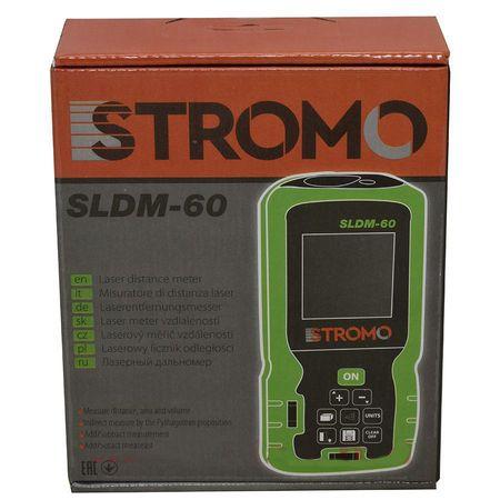 Telemetru laser Stromo, 60m, ruleta laser + 2 baterii 2