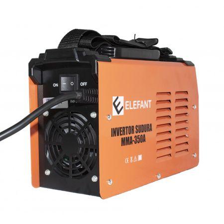 Aparat de sudura Invertor MMA ELEFANT 350A, diametru electrod 1.6 - 4 mm 3