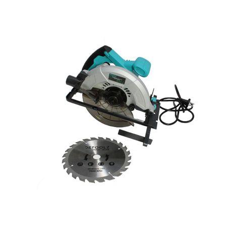 Fierastrau circular DeToolz, 1200W, 185mm, 5800 rpm + Ochelari de protectie, Profesional 4