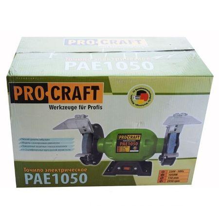 Polizor de banc 1050W, 2950RPM + 2 Discuri de granulatie diferita, PROCRAFT PAE1050 1