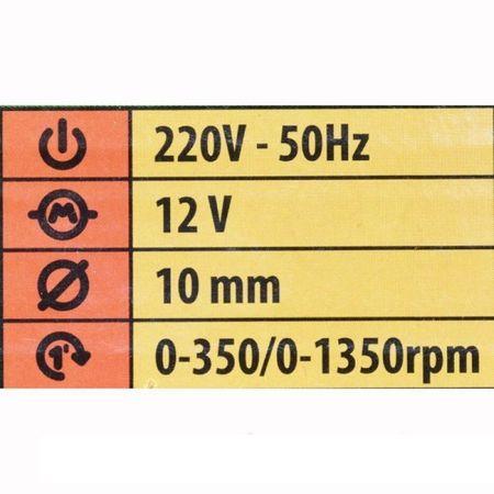 Masina de Insurubat 2 Acumulatori PROCRAFT PA-12PRO, 12V, 10mm, 1350Rpm, Autofiletanta 5