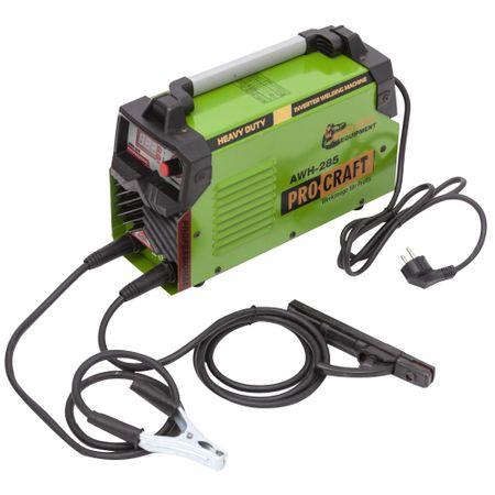 Invertor/Aparat de sudura Procraft Germany 285A, Afisaj digital, Putere 285A, Electrod 1.6-5.0 MM + Masca Sudura ProCraft SHP90-30 Automata 2