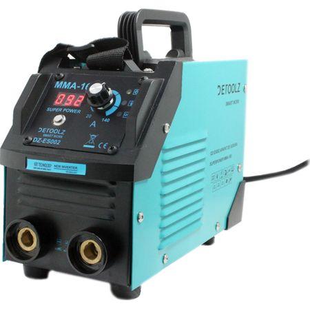 Aparat de sudura MMA-160 DETOOLZ, putere absorbita 8,1 kVA, eficenta 80%, diametru electrod 1,6-5mm 5