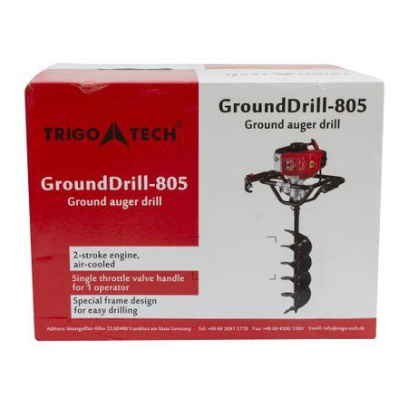 Pachet Motoburghiu TRIGO TECH, 2.5 CP cu reductor + Burghie 100 + 200mm + 300 mm, Foreza pentru pamant 5