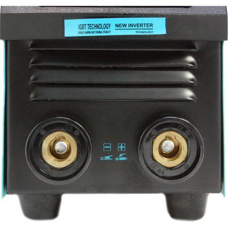 Aparat de sudura MMA-160 DETOOLZ, putere absorbita 8,1 kVA, eficenta 80%, diametru electrod 1,6-5mm 6