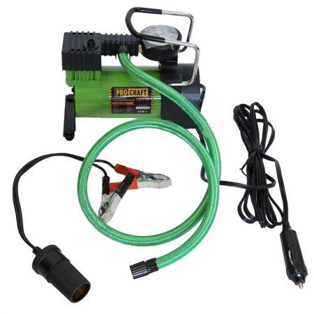 Compresor auto 12V, 190W, Procraft LK190, debit aer 35l/h 0