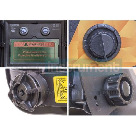 Masca Sudura ProCraft SHP90-30 Automata, Solara cu reglaj si cristale lichide 2
