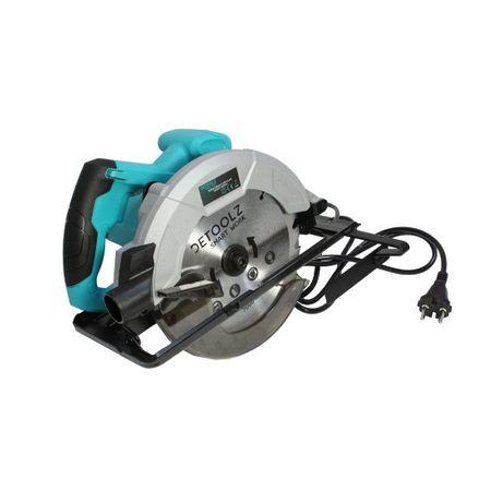 Fierastrau circular DeToolz, 1200W, 185mm, 5800 rpm + Ochelari de protectie, Profesional 0