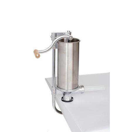 Masina de umplut carnati 4kg verticala otel inox YG-2008C Micul Fermier din INOX 100% [1]