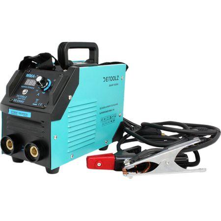 Aparat de sudura MMA-160 DETOOLZ, putere absorbita 8,1 kVA, eficenta 80%, diametru electrod 1,6-5mm 9