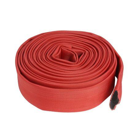 Furtun pompier 2 TOLI-20m 8 bari fara cuple ROSU 2