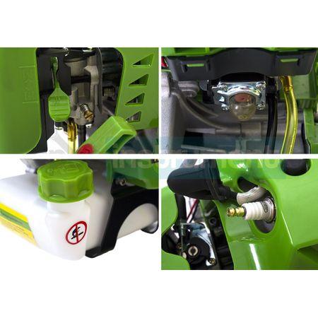 Motocoasa PROCRAFT T4200, 5.7 CP, 4200 W, 9000 rpm, cu 5 accesorii + Accesoriu de drujba pentru taiat la inaltime 6