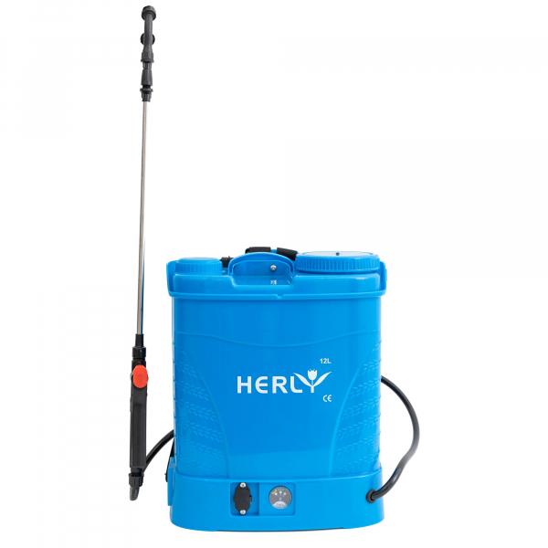 Pompa de stropit cu acumulator HERLY 12 litri, 5,5 bari 2