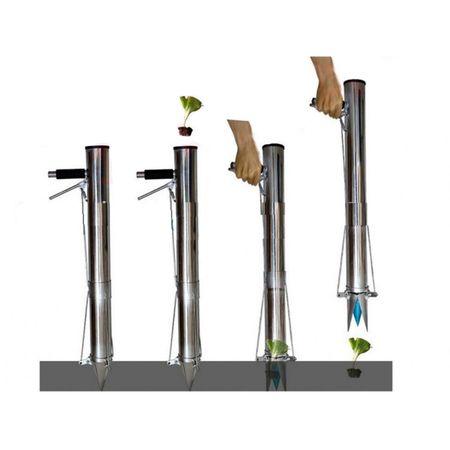 Plantator Manual - Semanatoare Rasaduri Inox ( Plantezi din Picioare ) 2
