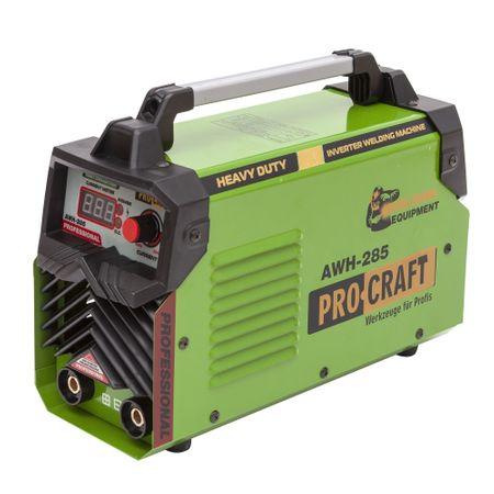 Invertor/Aparat de sudura Procraft Germany 285A, Afisaj digital, Putere 285A, Electrod 1.6-5.0 MM 6