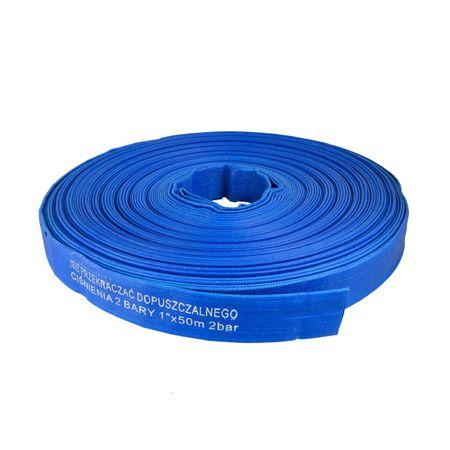 Furtun de apa PVC 1 TOL 50M, cu Insertie 2