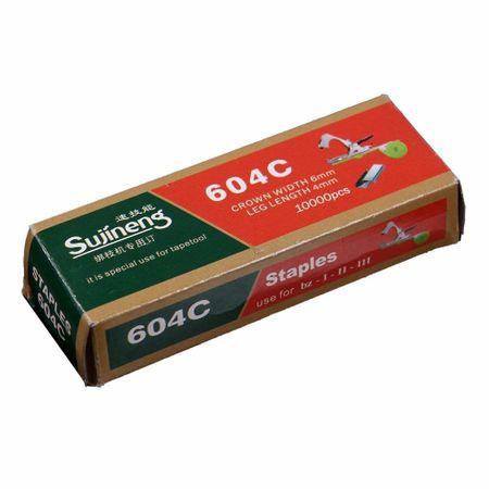 Capse pentru aparat de legat via 604C 10.000 buc Sujineng 1